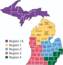 Map Michigan Michigan Isd Map Michigan Map