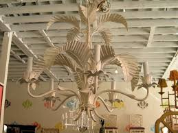 Tree Chandelier Faux Bamboo Palm Tree Chandelier Circa Who