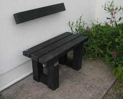 claggan bench no back murray u0027s recycled plastic