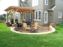 Small Backyard Patio Design Ideas Patio Ideas Diy Backyard Stone Paver Patio Tutorial Small Back