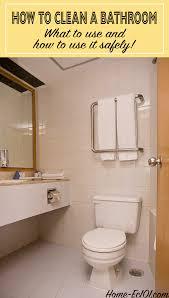 bathroom cleaning 101
