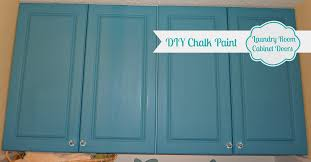 DIY Chalk Painted Doors The Love Affair Continues The Happy - Painted kitchen cabinet doors
