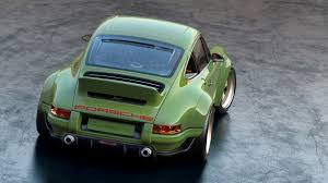 porsche british racing green the ultimate classic porsche 911 is packed with cutting edge
