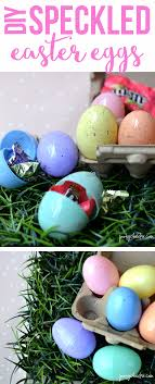 speckled easter eggs speckled easter eggs tutorial craft poofy cheeks