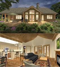 Open Floor Plans Homes 42 Best House Plans In 3d Images On Pinterest Open Floor Plans
