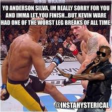 Anderson Silva Meme - yo anderson silva im really sorry for you and imma let you finish