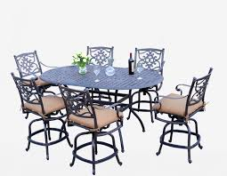 Patio Furniture 7 Piece Dining Set -