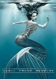 mermaid draw commission fun