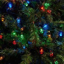 80 multi coloured static led lantern lights 16 8m robert dyas