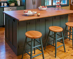 incomparable stationary kitchen islands with stools on knotty pine