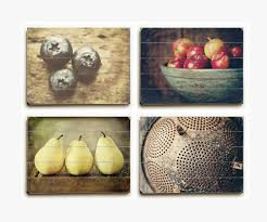 country kitchen wood plank set of 4 u2022 lisa russo fine art photography