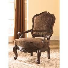 Brown Accent Chair Signature Design By Shore Brown Accent Chair