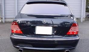 mercedes 500 for sale benzs002 1999 mercedes s500 sedan lorinser modify w220075