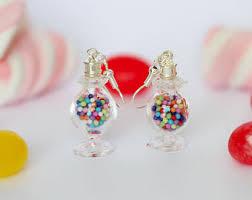 food earrings jam filled cookie stud earrings cookie earrings food