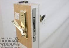 Patio Door Lock Installation Ordinary Install Sliding Door Lock Install Sliding Glass Door Lock