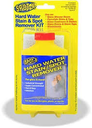Water Stains On Glass Shower Doors Spot X Water Stain Spot Remover Health
