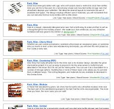 Free Wood Wine Rack Plans by Wine Rack Plans Build Wooden Plans Woodworking Bench Depth