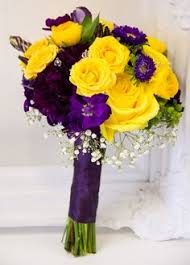 wedding flowers kitchener yellow sunflowers with pink roses and wax flower make a stunning
