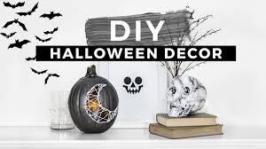 halloween diy decor diy halloween decorations inspired youtube