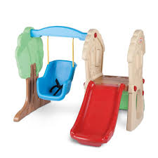 tikes hide u0026 seek climber u0026 swing