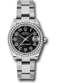 rolex steel oyster bracelet images Rolex datejust 31mm steel 46 diamond bezel oyster bracelet jpg