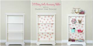 Bookcase Diy by Downeast Home Bookcase Turned Into Diy Baby U0027s Accessory