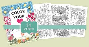 free coloring book 9 beautiful pages to color