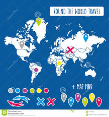 World Map Posters by Pins In A Map Of Europe Stock Image Image 6613611