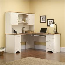 Computer Hutch Desk With Doors Furniture Awesome Corner Office Computer Desk Home Computer Desk
