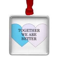 better together ornaments keepsake ornaments zazzle