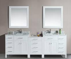 Marble Sink Vanity Modern Sink Vanity White Pattern Marble Sink Table Grey