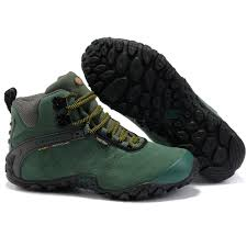merrell men camping winter outdoor sport high top hiking shoes for