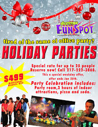 office party flyer holiday office party scotties fun spot quincy il fun times