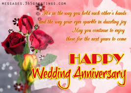 happy wedding message wedding anniversary wishes and messages 365greetings mrg wordings
