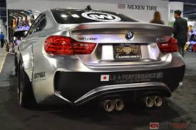 bmw m4 widebody f32 f33 f36 f82 f83 article sema 2014 lb liberty walk