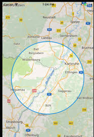 Draw A Radius On A Map Ios Google Map Radius To Zoom Level Stack Overflow