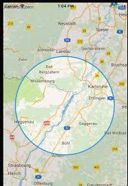 Radius Maps Ios Google Map Radius To Zoom Level Stack Overflow