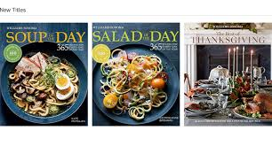 digital cookbooks williams sonoma