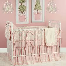 taylors toile baby bedding in pink and nursery necessities in
