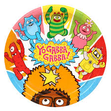 Images Of Yo Gabba Gabba by Yo Gabba Gabba Party Dinner Plates Birthdayexpress Com