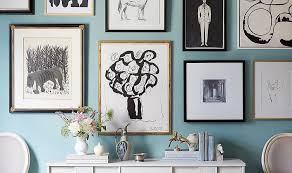 Wall Console Table How To Hang Art Above A Console Table