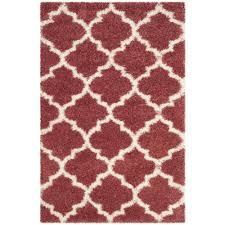 Rose Area Rug Safavieh Montreal Shag Rose Ivory 4 Ft X 6 Ft Area Rug Sgm832r 4