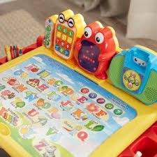 vtech write and learn desk 49 99 was 79 99 vtech touch and learn activity desk deluxe mom