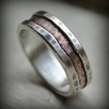 artisan wedding rings rustic wedding band ideas collections