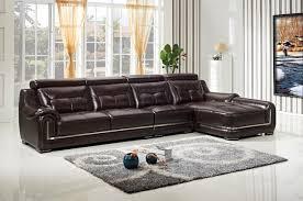 canapé d angle avec appui tête lizz brown canapé d angle et salon chaise en cuir véritable canapé
