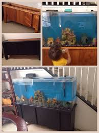 i used diy chalk paint on my fish tank stand it took 2 coats plus