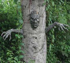 creepy poseable zombie hands arms tree hugger halloween haunted