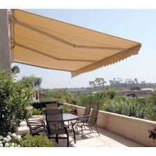 Retractable Awnings Price List Aleko Outdoor Retractable Home Awning 13 X 10 Feet Patio Beige