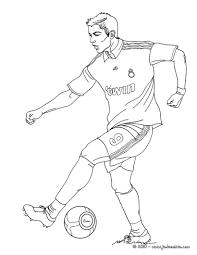 coloriage joueurs de foot coloriages coloriage à imprimer