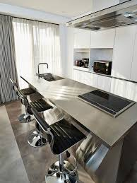 kitchen ideas with white cabinets and stainless steel appliances 84 stainless steel countertop ideas photos pros cons